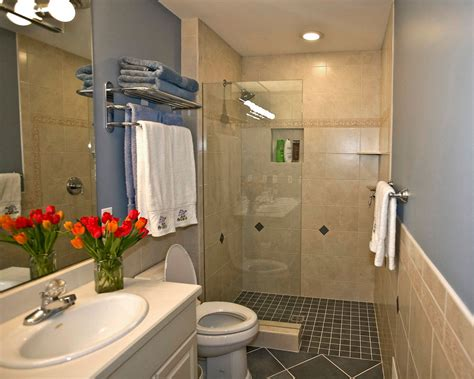 bathroom ideas with shower and bath creating amazing small bathrooms Small