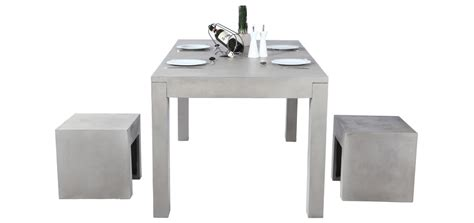table de cuisine grise rendez vous numéro 12 des meubles en béton design