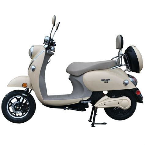 e scooter motor boom 800w 48v electric moped scooter 573n brushless motor yellow ebay