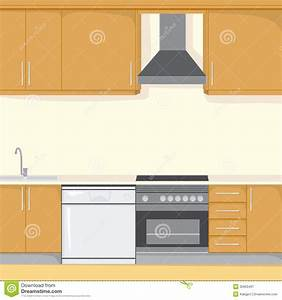 Kitchen Background Royalty Free Stock Photography - Image