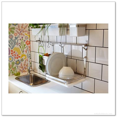wall mounted drying rack   dishes home decor