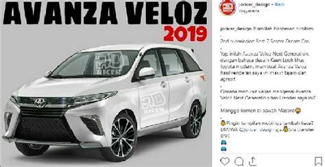 Gambar Mobil Toyota Avanza Veloz 2019 by Foto New Avanza 2019 Terbaru Terbaru