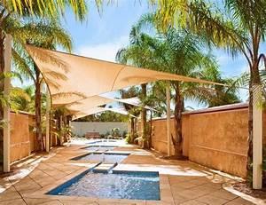 Segel Für Terrasse : terrasse mit sonnensegel gestalten und an palmen bespannen ~ Sanjose-hotels-ca.com Haus und Dekorationen