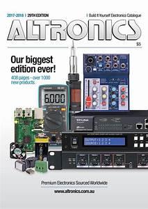 Altronics 2017 18 Electronics Catalogue By Altronicsau