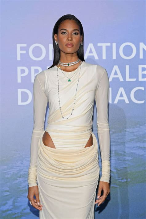Cindy Bruna Off White Draped Ruched Maxi Dress Spring ...