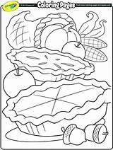 Coloring Thanksgiving Feast Getcolorings Printable sketch template