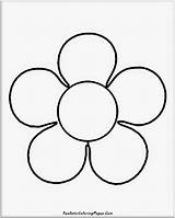 Coloring Flower Pages Simple Easy Basic Drawing Realistic Flowers Nature Printable Template Drawings Popular Print Edit Mesmerizing Getcolorings Getdrawings sketch template