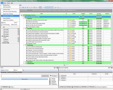program management method  task management program
