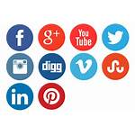 Social Network Icons Icon Transparent Buttons Clipart