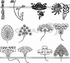 Jugendstil Florale Ornamente : art nouveau ornaments and closet on pinterest ~ Orissabook.com Haus und Dekorationen