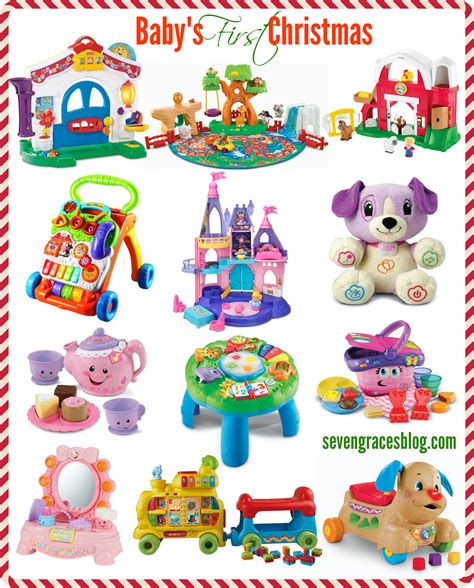 6 month christmas gifts best gifts for baby s seven graces