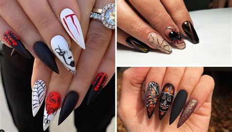 Muchas veces simplemente buscamos decoraciones de uñas con un color. 20 ideas de diseños de uñas para demostrar tu amor por la temporada de Halloween - VIX
