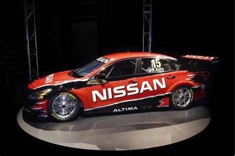 nissan race car nissan altima v8 supercars race car revealed