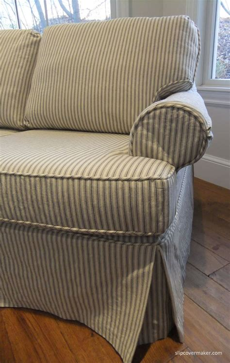ticking stripe sofa slipcover 566 best slipcovers images on pinterest chairs cloths