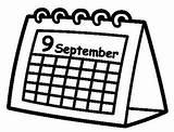 Desk Coloring Calendar Sheet Coloringpagesfortoddlers Disimpan Dari sketch template