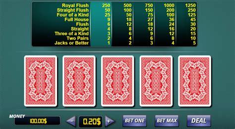 Vidéos Poker Gratuit