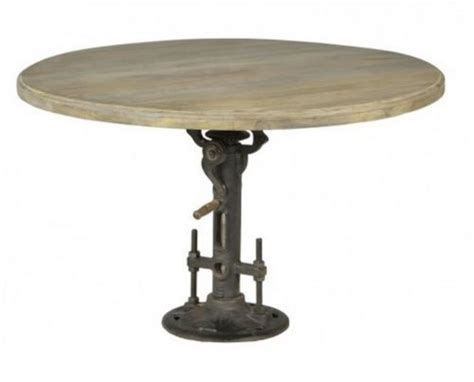 adjustable height round coffee table bar tables irons and spinning on pinterest