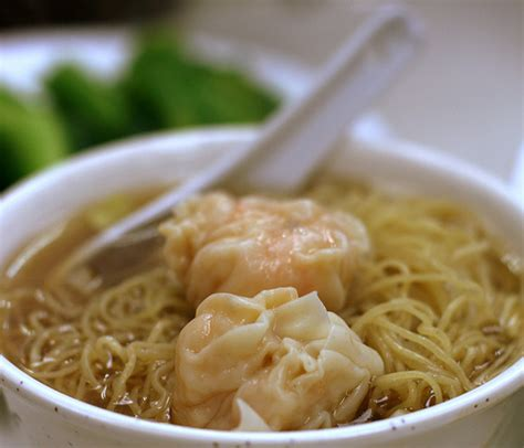 pacific cuisine wonton noodle soup food so mall
