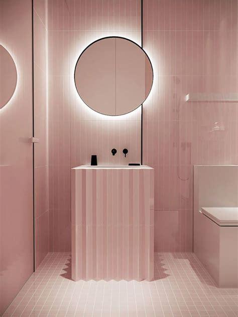 piastrelle bagno rosa bagno rosa 31 idee per arredi piastrelle rivestimenti e
