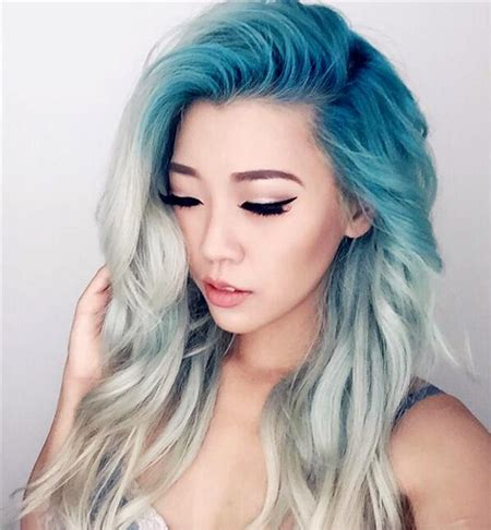 hair dye style 中短发挑染发型大全 2017流行挑染发色 2018年流行发型 发型站 最新流行发型设计发型图片与美发造型门户网 6514