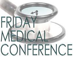 calendar friday medical conference