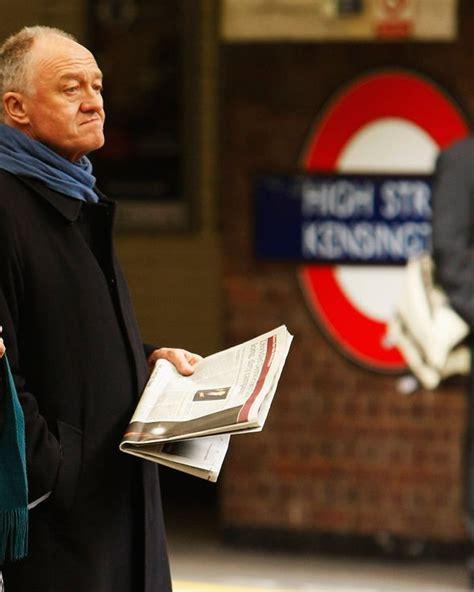 ken livingstone mocked  angry row  tube worker