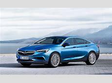 AllNew 2017 OpelVauxhall Insignia Grand Sport Will Debut
