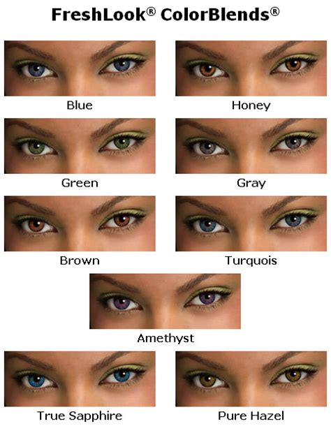 prescription colored contacts for astigmatism freshlook colorblends contacts 31 50 lowest price