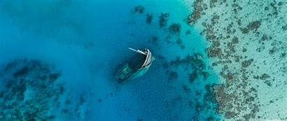 Shipwreck Scuba Ultrawide Diver Background