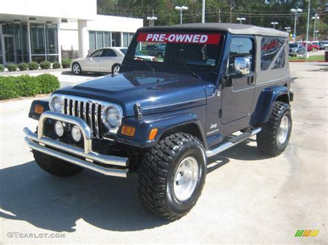 jeep dark blue 2006 midnight blue pearl jeep wrangler unlimited 4x4