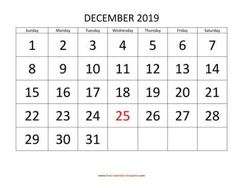 december calendar tempplate calendar templatecom