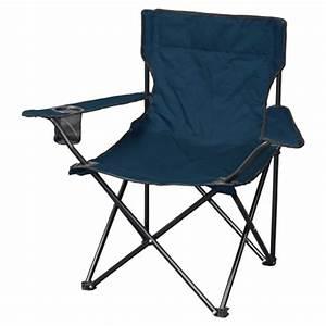 Chaise Camping Pliante : chaise de camping pliante bleu denim ferlac ~ Melissatoandfro.com Idées de Décoration