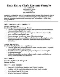 80 resume exles by industry title free downloadable