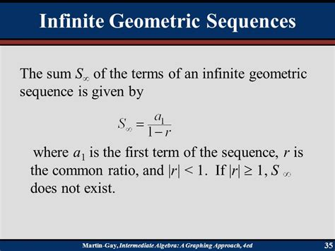 sequences series and the binomial theorem ppt