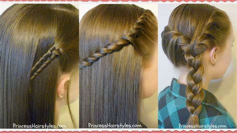 3 easy back to school hairstyles hairstyles pinterest