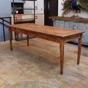 Comment Fabriquer Une Table De Ferme En Bois : ancienne table de ferme en bois ~ Louise-bijoux.com Idées de Décoration