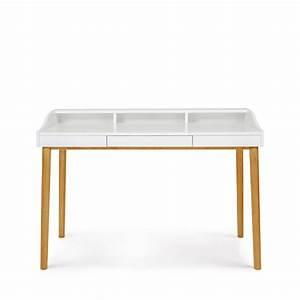 Bureau Design Scandinave : bureau design scandinave ch ne et laque lindenhof drawer ~ Teatrodelosmanantiales.com Idées de Décoration