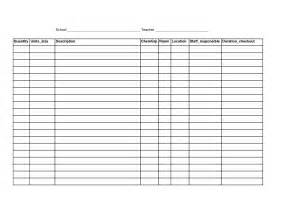 Free Blank Spreadsheets 6 Best Images Of Free Printable Blank Spreadsheet Templates Printable Blank Excel Spreadsheet