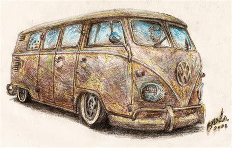 volkswagen bus drawing vw t1 bus by nozols on deviantart