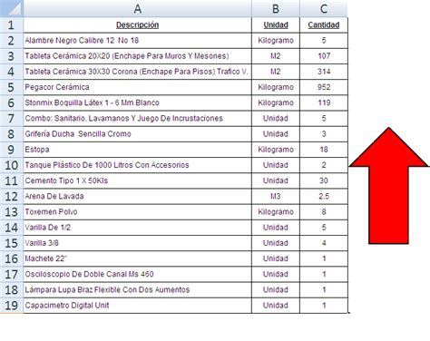 lista de precios materiales construccion en excel mayo 2016 pdf newhairstylesformen2014
