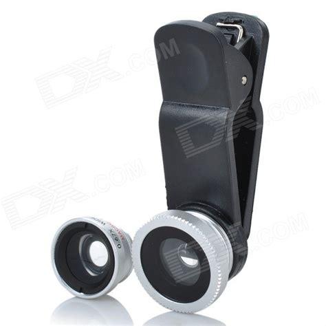 fisheye iphone lens universal clip on fisheye wide angle macro lens set