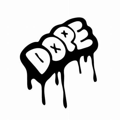 Dope Graffiti Decal Vinyl Stickers Decals Sticker