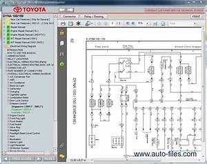 Toyota Dyna 100  150  Repair Manuals Download  Wiring