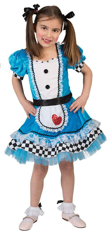 im wunderland kleid im wunderland kost 252 m m 228 dchen kinder kleid m 228 rchen kost 252 m karneval kk ebay