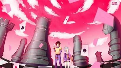 Shiro Sora 4k Background Anime Wallpapers Wall