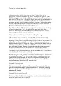 Nursing Performance Evaluation Sample Comments