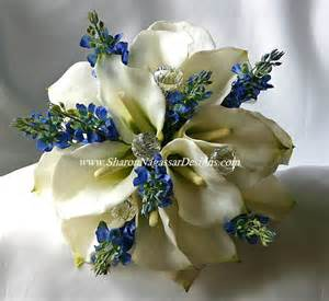 blue wedding flowers blue white bouquet real touch flowers lupines calla lilies silk wedding ebay