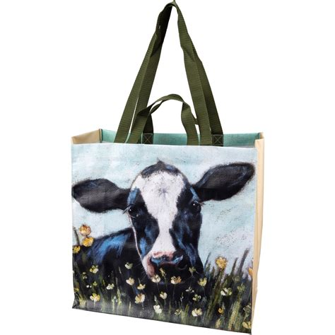 market tote rooster  farmhouse collection primitives  kathy