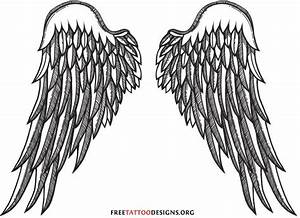 Gallery Guardian Angel Wings Tattoo Designs
