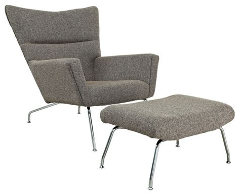 modern accent chair and ottoman dove chair and ottoman oatmeal midcentury armchairs and